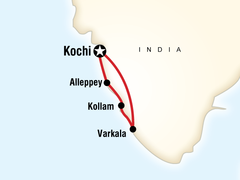 Beaches and Backwaters Tour in South India