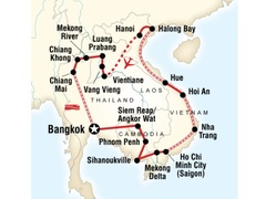Indochina Discovery Overland Tour
