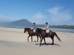 Horseback Beach Riding Holidays in South Africa