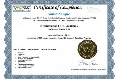accredited 170-hour online tefl certification class with ...
