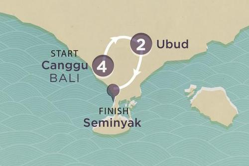 Bali Active: Surf, Yoga, Cycle