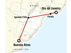 Argentina and Brazil on a Shoestring Tour