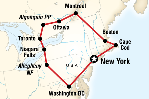 Highlights Of The Eastern Usa Canada With G Adventures