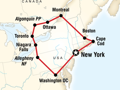 Highlights of the Eastern USA & Canada