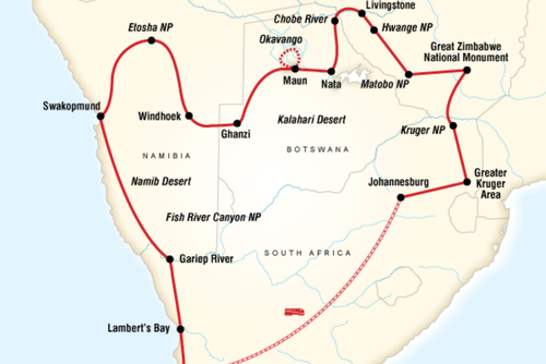 Hightlights of Southern Africa