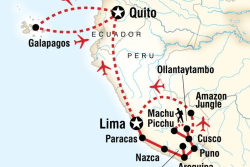 Absolute Peru & Galápagos Islands