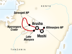 Mt Kilimanjaro & Serengeti Adventure