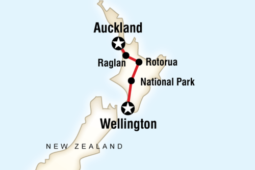 New Zealand - Best of North Island