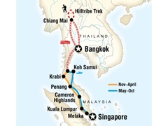 South-East Asia on a Shoestring Tour