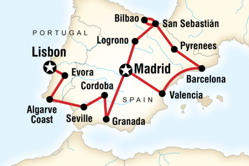 Ultimate Spain & Portugal Adventure