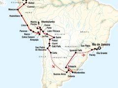 The Great South American Journey - Quito to Rio Adventure