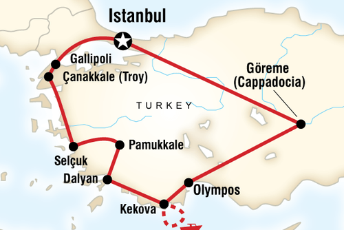 Turkey on a Budget Tour