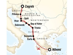 Adriatic Adventure Tour - Zagreb to Athens
