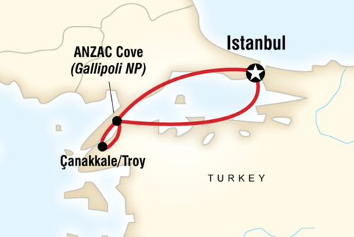 ANZAC Day Memorial Tour, Turkey