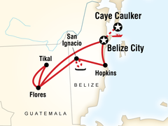 Belize and Tikal Adventure Holiday