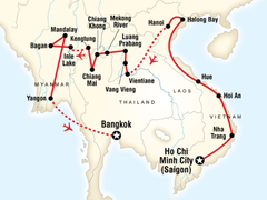 Burma, Laos & Vietnam on a Shoestring