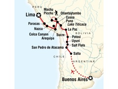 Buenos Aires to Lima Adventure