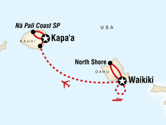 Hawaii Adventure - Oahu & Kauai