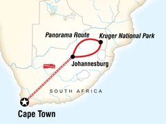 Cape & Kruger National Park by Rail