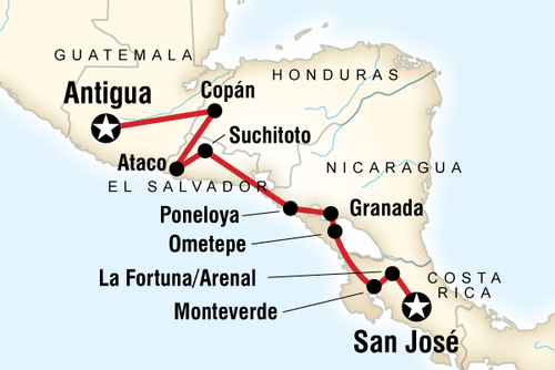 Central America Backroads Tour