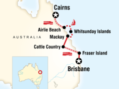 Brisbane to Cairns Experience