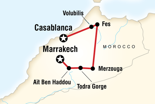 Morocco Active Adventure Tour