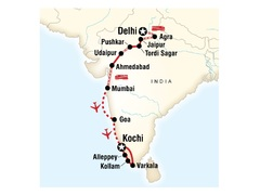 North to South India on a Shoestring
