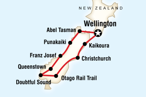 New Zealand South Island Encompassed
