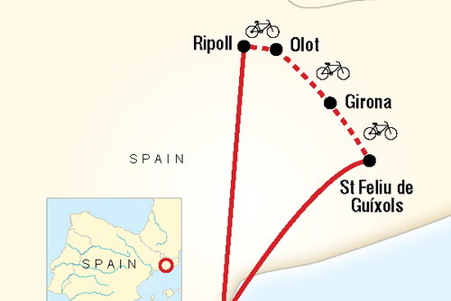 Northern Spain Cycling Holiday