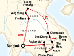 Mekong Adventure Tour of Thailand, Cambodia and Laos