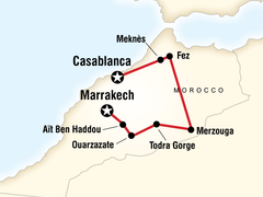 Small Group Adventure Holiday in Morocco