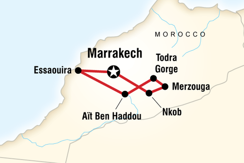 Moroccan Desert Adventure Tour