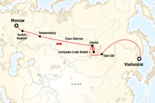 Trans Siberian Railway Adventure
