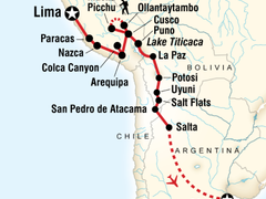 Lima to Buenos Aires Adventure