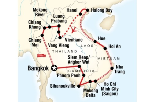 Indochina Discovery Tour
