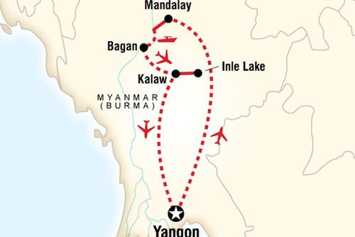 Small Group Myanmar Tour (12 Days)