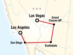 Los Angeles to Las Vegas Overland