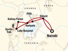 Kenya and Uganda Gorilla Adventure Trip