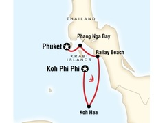 Thailand Sailing Adventure - Phuket to Koh Phi Phi