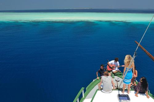 Dhoni Cruise in the Maldives