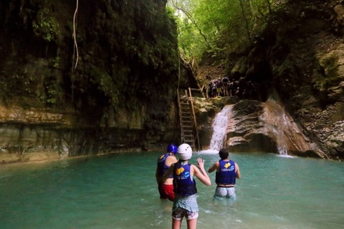 Damajagua Waterfalls Tour, Puerto Plata, Dominican Republic