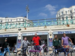 Brighton White Cliffs Bike Tour
