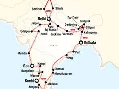 Indian Odyssey by Rail