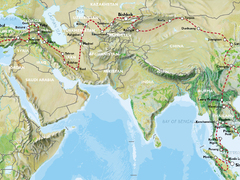 Istanbul to Singapore (24 weeks) Trans Asia
