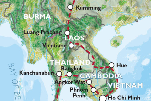 Xi'an to Singapore (73 days) Indochina Encompassed