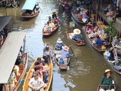 Bangkok Floating Market Day Tour