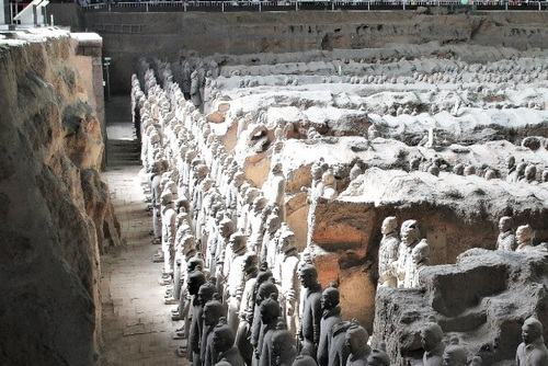 Terracotta Warriors Day Tour, Xian, China
