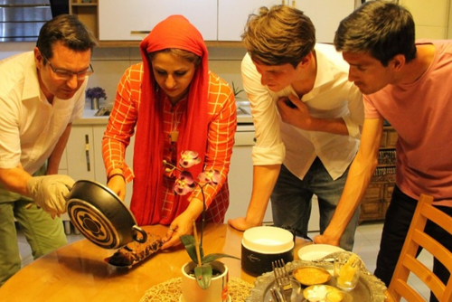 Persian Cooking Class, Shiraz, Iran