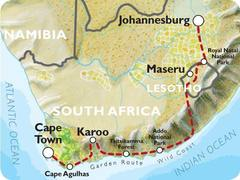 Cape Town to Johannesburg (17 Days) South Africa and Lesotho