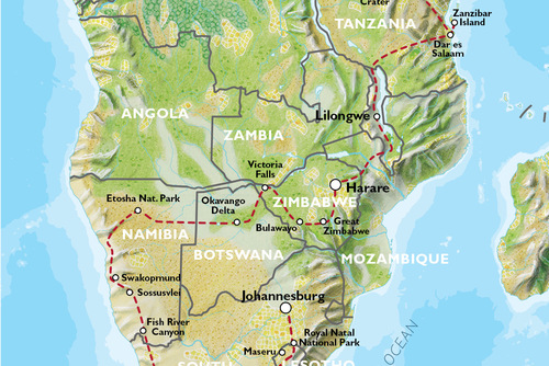 Nairobi to Johannesburg (93 days) Grand Adventurer